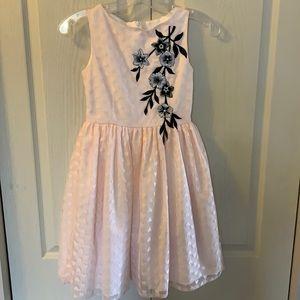 Pastourelle stunning pink party dress